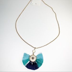 🤑4 for $20🤑 shades of blue chain necklace